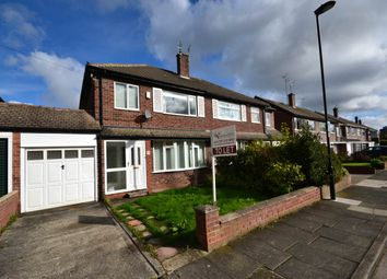 Thumbnail 3 bedroom semi-detached house to rent in Holystone Avenue, Gosforth, Newcastle Upon Tyne