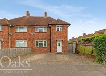 Thumbnail 3 bed semi-detached house for sale in Swinburne Crescent, Croydon