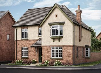 Thumbnail 4 bed detached house for sale in The Dovecliffe, Hilltop View, Burton On Trent