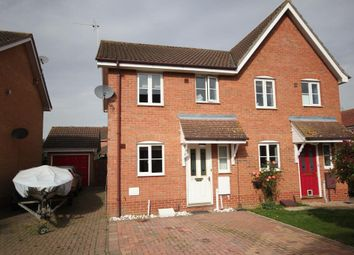 Thumbnail 2 bed semi-detached house for sale in Briars End, Witchford, Ely