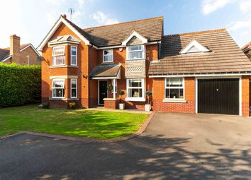 Thumbnail 5 bed detached house for sale in Verden Avenue, Warwick