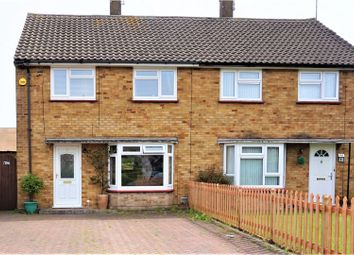Thumbnail 3 bed semi-detached house for sale in Bracknell Close, Luton
