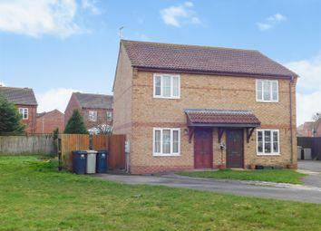 Thumbnail 2 bed semi-detached house for sale in Elder Close, Skegness, Lincs
