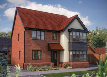 "Thumbnail 5 bed detached house for sale in ""The Wavendon"" at Limousin Avenue, Whitehouse, Milton Keynes"