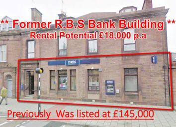 Thumbnail Commercial property for sale in 11, High Street, Former Rbs Bank, Turriff AB534Ed