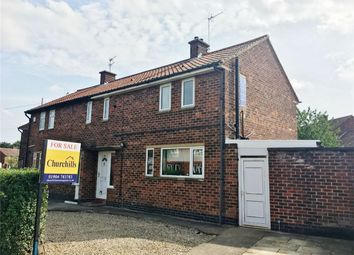 Thumbnail 2 bedroom semi-detached house for sale in Wains Road, Dringhouses, York