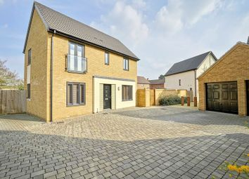 Thumbnail 3 bed detached house for sale in Dandby Close, Little Paxton, St. Neots