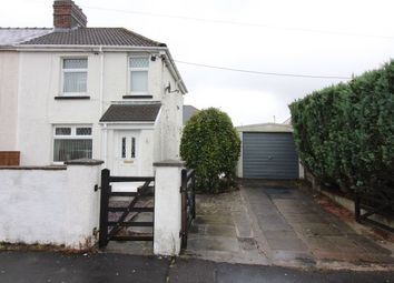 Thumbnail 2 bed semi-detached house for sale in Glanffrwd Avenue, Ebbw Vale