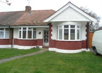 Thumbnail 3 bed semi-detached bungalow to rent in Abergale Gardens, Potters Bar