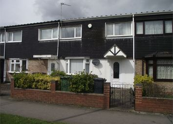 Thumbnail 3 bed terraced house to rent in Dunster Road, Chelmsley Wood, Birmingham