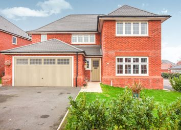 Thumbnail 4 bed detached house for sale in Ivy Close, Hartford, Northwich