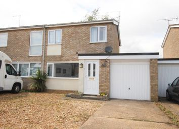 Thumbnail 3 bed semi-detached house for sale in Meadow Court, Littleport, Ely