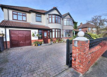 Thumbnail 4 bed semi-detached house for sale in Manor Avenue, Crosby, Liverpool