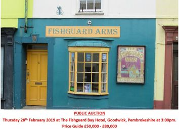 Thumbnail 2 bed terraced house for sale in The Fishguard Arms, 24 Main Street, Fishguard, Pembrokeshire