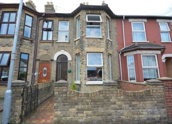 Thumbnail 3 bedroom terraced house for sale in Lorne Park Road, Lowestoft