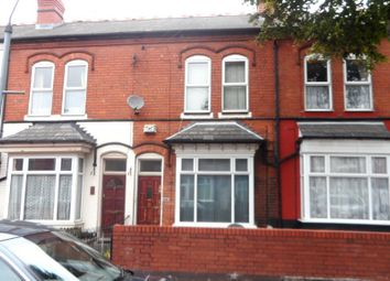 Thumbnail 3 bedroom terraced house for sale in Antrobus Road, Handsworth, Birmingham