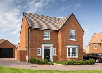 "Thumbnail 4 bedroom detached house for sale in ""Shenton"" at Michaels Drive, Corby"