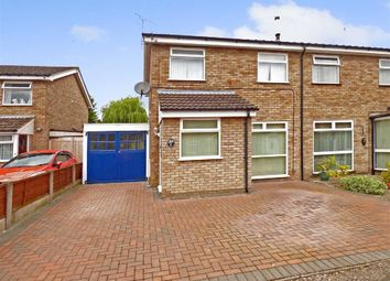 Thumbnail 3 bed semi-detached house for sale in Mossdale Close, Crewe