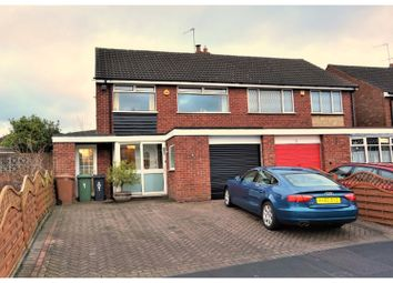 Thumbnail 3 bed semi-detached house for sale in Haddon Crescent, Willenhall