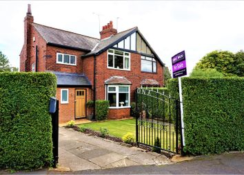 Thumbnail 3 bed semi-detached house for sale in Temple Grove, Leeds