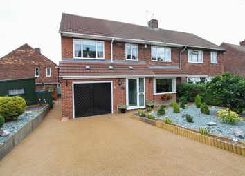 Thumbnail 4 bed semi-detached house for sale in Castleton Grove, Inkersall, Chesterfield