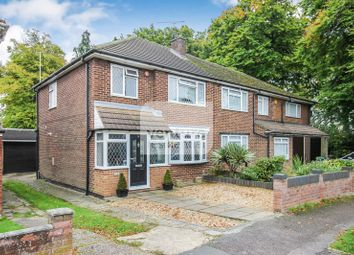 Thumbnail 3 bed semi-detached house to rent in Rossfold Road, Luton