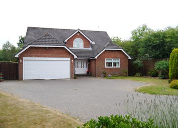 Thumbnail 4 bed detached house for sale in Wentworth Court, Ponteland, Newcastle Upon Tyne