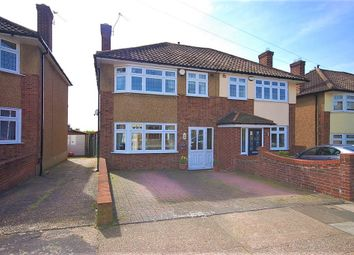 Thumbnail 3 bed semi-detached house for sale in Glenton Way, Romford