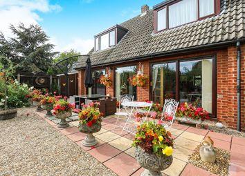 Thumbnail 3 bed detached house for sale in Walnut Grove, Worlington, Bury St. Edmunds