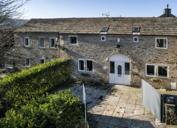 Thumbnail 4 bed barn conversion for sale in Back Green, Outlane, Huddersfield