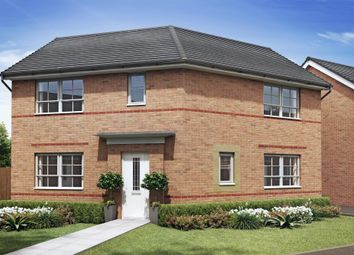 "Thumbnail 3 bed detached house for sale in ""Eskdale"" at Newton Lane, Wigston"