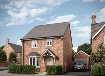 "Thumbnail 3 bed detached house for sale in ""The Watermead"" at Butt Lane, Blackfordby, Swadlincote"