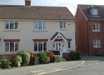 Thumbnail 3 bed semi-detached house for sale in Lon Pedr, Llandudno