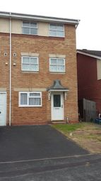 Thumbnail 4 bed town house to rent in Waterside Close, Bordesley Village