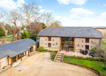 Thumbnail 5 bed barn conversion for sale in Merston, Chichester, West Sussex