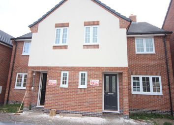 Thumbnail 3 bed semi-detached house for sale in Heath Lane, Earl Shilton, Leicester