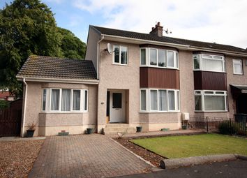 Thumbnail 4 bed semi-detached house for sale in 16 Loancroft Gardens, Uddingston