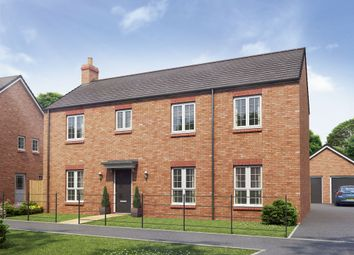 "Thumbnail 4 bed detached house for sale in ""The Kensington"" at Hartburn, Morpeth"