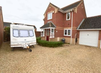 Thumbnail 3 bedroom property for sale in Harvester Way, Crowland, Peterborough