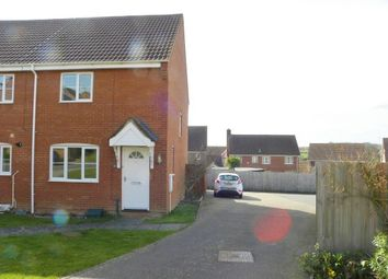 Thumbnail 2 bed property to rent in Swan Close, Stowmarket