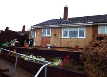 Thumbnail 2 bed semi-detached bungalow for sale in Aberthaw Circle, Off Aberthaw Road, Newport.