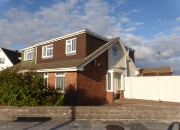 Thumbnail 4 bed semi-detached bungalow for sale in Rockfields, Nottage, Porthcawl