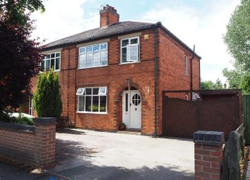 Thumbnail 3 bed semi-detached house for sale in Windsor Avenue, Newark