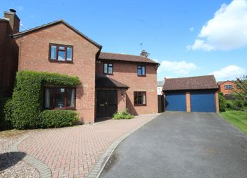 Thumbnail 4 bed detached house for sale in Bennett Close, Stoke Golding, Nuneaton