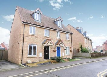 Thumbnail 3 bed semi-detached house for sale in Maunder Avenue, Biggleswade, Bedfordshire, .