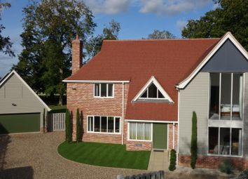 Thumbnail 5 bed detached house for sale in Cedars Close, Thurston, Bury St. Edmunds