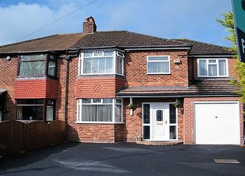Thumbnail 4 bed semi-detached house for sale in Oakdene Avenue, Heald Green, Cheadle