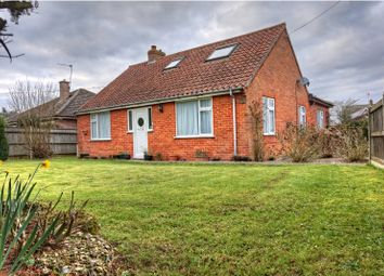 Thumbnail 3 bed detached bungalow for sale in Grove Road, Hethersett