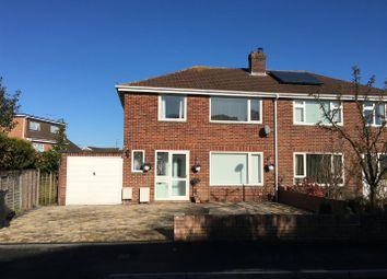 Thumbnail 3 bedroom semi-detached house for sale in Brecon Close, Lawn, Swindon