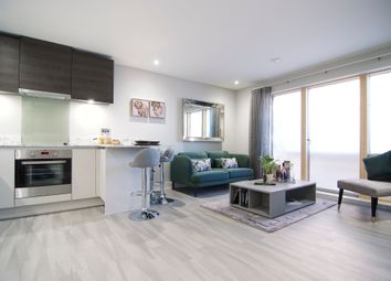 Thumbnail 2 bed flat for sale in Stoke Road, Slough